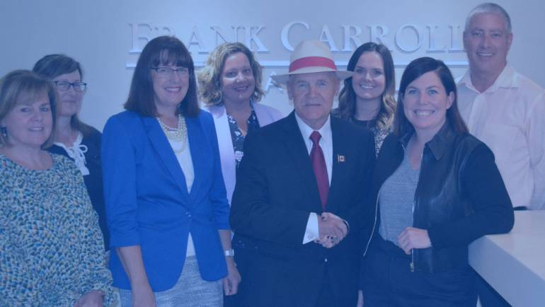 Frank Carroll Financial Gives to Building Care
