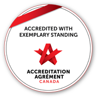 logo: accreditation canada