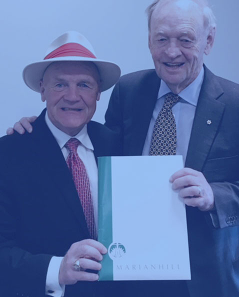photo of jean chretien and hec clouthier